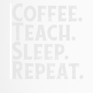 KAFFE. LÆRE. SLEEP. REPEAT. - Termokopp