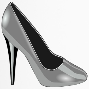 High Heel Silber - Thermobecher