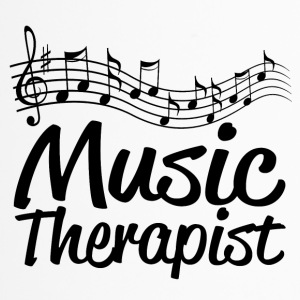 music therapist - Thermobecher