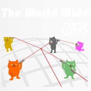 Het World Wide Cats - Thermo mok