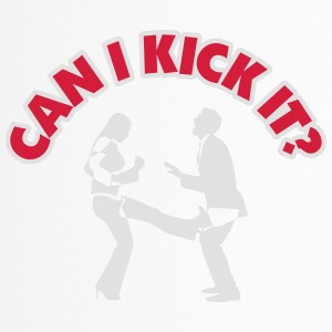 Can I Kick You In The Balls? - Travel Mug