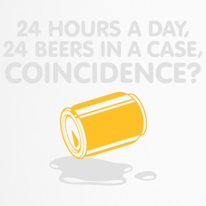 24 Hours A Day ,24 Beers In A Case,Coincidence? - Travel Mug