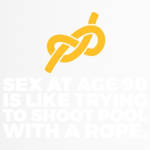 Sex At 90 Is Like Playing Pool With A Rope! - Travel Mug