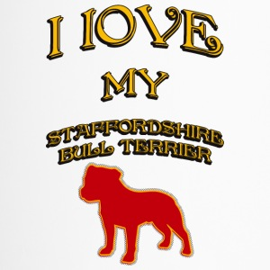 J'AIME MON DOG Staffordshire Bull Terrier - Mug thermos