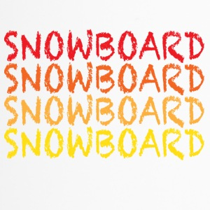 Snowboard - Thermobecher