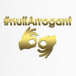 Null Arrogant #Gold - Thermobecher