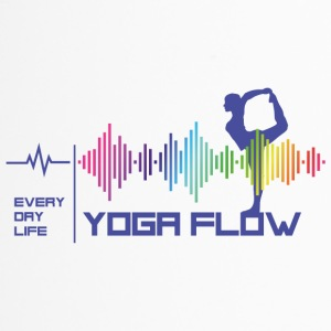 Yoga Flow - Everday Life - Gute Vibes (Violett) - Thermobecher