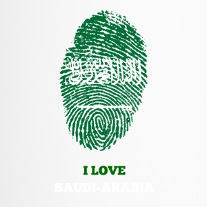 SAUDI-ARABIEN FINGERABDRUCK T-SHIRT - Thermobecher