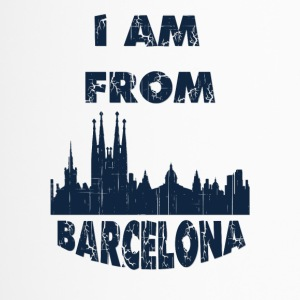 Barcelona I am from - Travel Mug