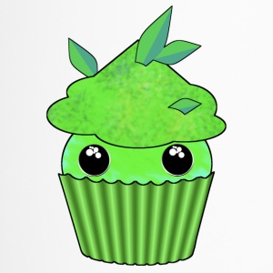 Green Kawaii Cupcake - Thermo mok
