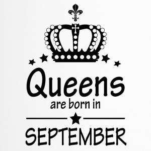 Queens sont nés en Septembre - Mug thermos