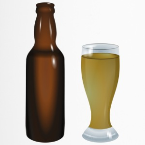 Beer glass bottle - Travel Mug