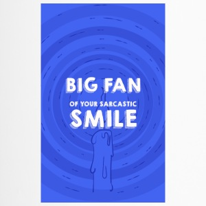 Grand fan de ton sourire - Mug thermos