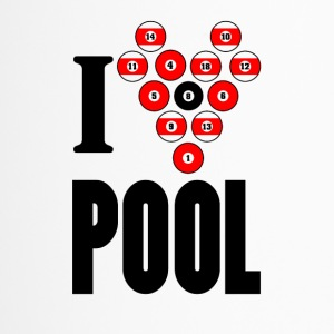 I love pool - Thermobecher