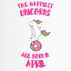 April Unicorn Unicorn idea birthday gift Fun - Travel Mug