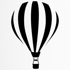 Heißluftballon Illustration - Thermobecher