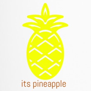 its pineapple - Travel Mug