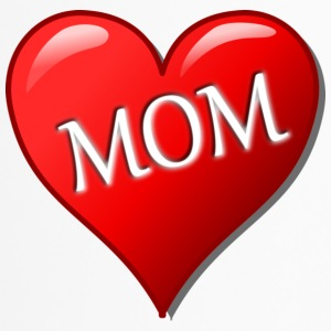 Heart Red Mom - Thermo mok