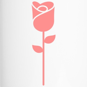 Een Rose Flower - Thermo mok