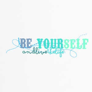 frase_png_beyourself_and_live_the_life_by_by_milii - Mug thermos