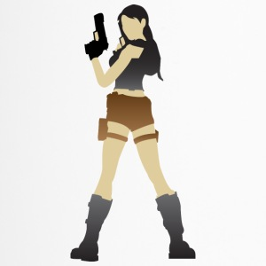 A Sexy Grave Hunter With Two Guns - Travel Mug