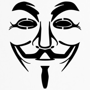 Anonyme Maske PNG Bild - Thermobecher