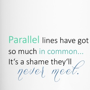 Parallel Lines 2 - Thermobecher
