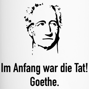 Goethe: Im Anfang war die Tat! - Thermobecher