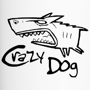 crazy dog ​​1 - Thermobecher
