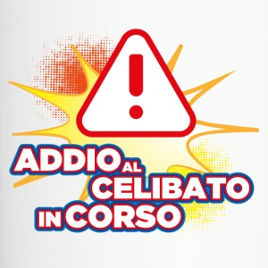 addio al celibato warning - Tazza termica