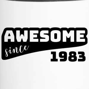 Awesome since 1983 / Birthday-Shirt - Travel Mug