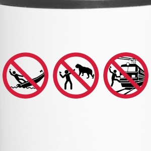 Selfies warning - Travel Mug