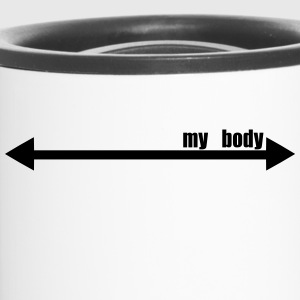 My body pfeil markierung this can be your body 1c - Thermobecher
