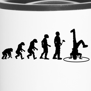 Evolution theory Breakdance - Travel Mug