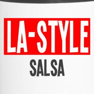 LA Style Salsa - Los Angeles Style Danceshirt - Travel Mug
