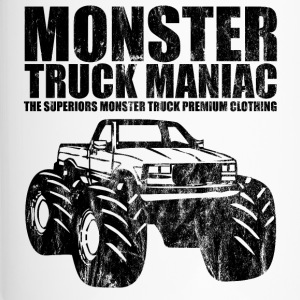 SUPERIEUREN  - monstertruck maniak - Shirt Design - Thermo mok