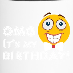 Birthday emoji. Emoticon. Birthday Party. Birthday - Travel Mug