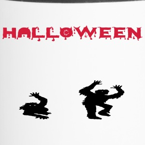 Halloween zombies - Thermo mok