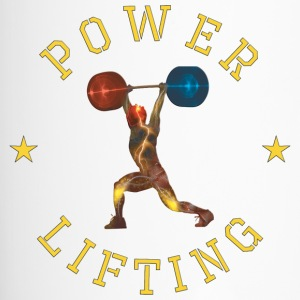 POWER LIFTING YELLOW - Thermobecher