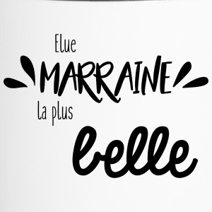 Elue marraine la plus belle - Mug thermos