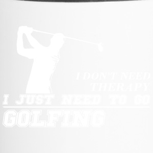 Just need to go golfing - Travel Mug