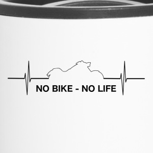 Motorrad - No Chopper No LIFE - Biker Bikerin - Thermobecher