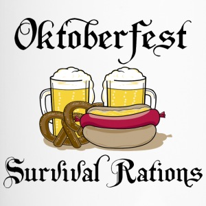 Oktoberfest Survival Rations - Travel Mug
