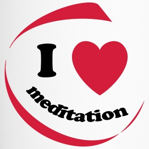 I love meditation - Thermobecher