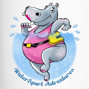 22-06 HIPPO fliessendem Wasser - RUNNING WATER - Thermobecher