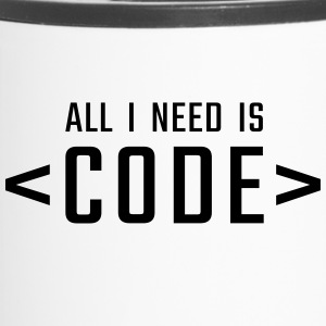 All I need is CODE - Kubek termiczny
