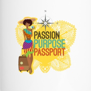 Passion, Purpose,Passport - Mug thermos