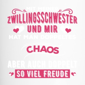 Zwillingsschwester Chaos - Thermobecher