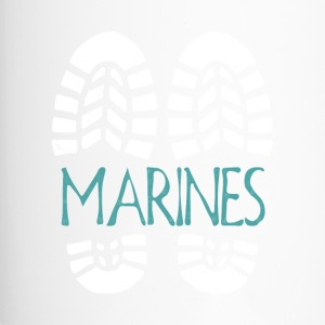 Marines. Color choice. Add your text - Travel Mug