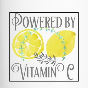 Powered by Vitamin C - Travel Mug